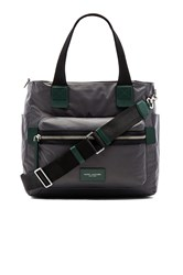Marc Jacobs Nylon Biker Babybag Charcoal