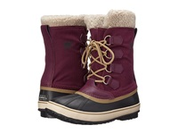 Sorel Winter Carnival Purple Dahlia Black Women's Cold Weather Boots