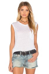Rag And Bone Laurel Muscle Tank White