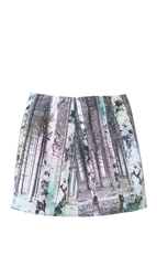 Tibi Enchanted Forest Mini Skirt