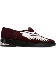 Toga Pulla Western Style Loafers Red