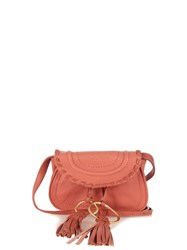 See By Chloe Polly Mini Leather Cross Body Bag Pink