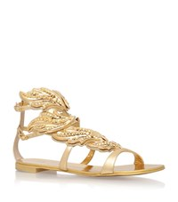 Giuseppe Zanotti Flame Studded Sandals Female Gold