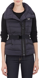 Moncler Quilted 'Labas' Puffer Vest Md. Blue