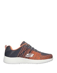 Skechers In The Mix Knit Sneakers Orange