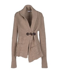 Relive Knitwear Cardigans Women Brown