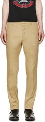Dsquared Khaki Cool Guy Fit Trousers