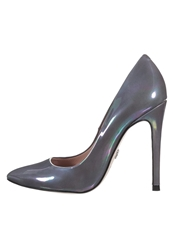Supertrash Pekaboo Classic Heels Oily Grey