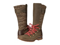 Merrell Eventyr Peak Waterproof Bungee Cord Women's Lace Up Boots Olive