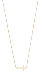 Tai Cross Necklace Gold