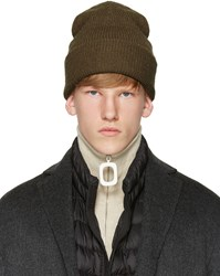 Acne Studios Brown Kosta Beanie
