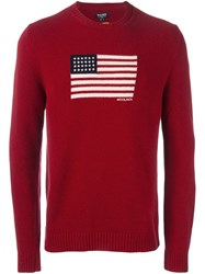 Woolrich 'Womag' Pullover Red