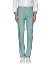 Henry Cotton's Trousers Casual Trousers Men Turquoise