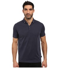 Ted Baker Missow Polynosic Polo Mid Blue Men's Clothing