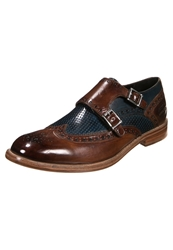 Melvin And Hamilton Eddy Slipons Crust Tan Mid Blue Brown