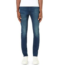 Levi's 510 Skinny Stretch Denim Jeans Red Fern