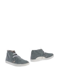 Le Crown Ankle Boots Dove Grey