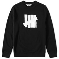 Undefeated Strike Vertical Crew Sweat Black