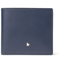 Montblanc Meisterstuck Leather Billfold Wallet Navy