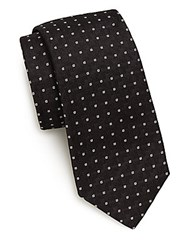 Ralph Lauren Micro Square Silk Tie Black