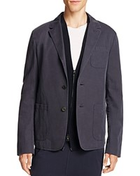 Vince Unstructured Slim Fit Sport Coat Navy