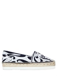 Palomitas By Paloma Barcelo 40Mm Dali Embroidered Suede Espadrilles