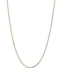 Links Of London 18Ct Gold Cable Chain Necklace