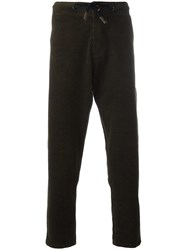 Bleu De Paname Regular Trousers Brown