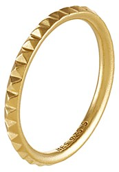 Pieces Julie Sandlau Jiya Ring Goldcoloured