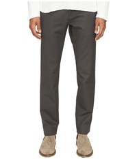 Billy Reid Leonard Chino Charcoal Men's Casual Pants Gray