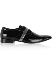 Acne Studios Pel Patent Leather Loafers Black