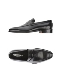 Wexford Footwear Moccasins Men Black