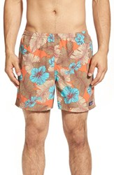 Men's Patagonia 'Baggies' Swim Trunks Cusco Orange