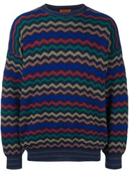 Missoni Vintage Zig Zag Jumper Multicolour