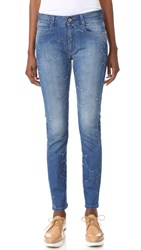 Stella Mccartney Skinny Boyfriend Jeans Deep Blue