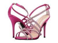 Caparros Fantasia Magenta New Satin High Heels Pink