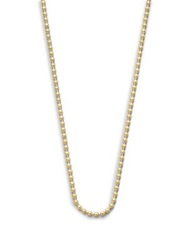 Temple St. Clair 18K Yellow Gold Ball Necklace Chain 16' 18