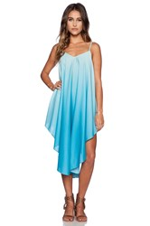 6 Shore Road Isla Ombre Dress Blue