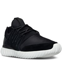 Adidas Men's Originals Tubular Radial Casual Sneakers From Finish Line Black Crystal White