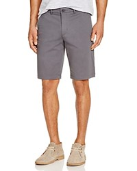 Hugo Boss Boss Green Sateen Shorts Grey