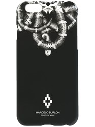 Marcelo Burlon County Of Milan Snake Print Iphone 6 6S Case Black