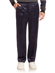Opening Ceremony Flannel Track Trousers Ink