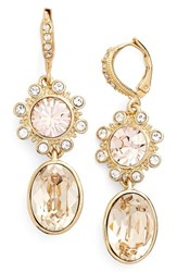 Women's Givenchy Jeweled Double Drop Earrings