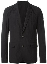 Wooyoungmi Embroidered Blazer Black