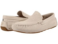 Ugg Henrick Perforated White Nubuck Men's Slip On Shoes