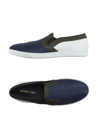 Sergio Rossi Footwear Moccasins Men Dark Blue