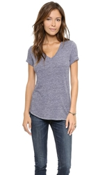 Lanston V Neck Tee Heather