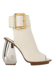 Bally 110Mm Janika Leather Sandal Boots