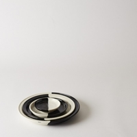 Mjolk Black And White Serving Plates By Renaud Sauve Black And White Serving Plates