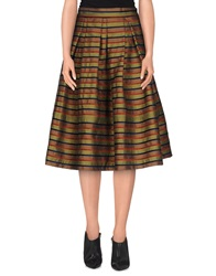 Roberto Collina 3 4 Length Skirts Rust